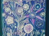 Modrá zahrada snů